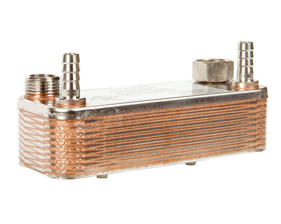 Beverage Elements Plate Wort Chiller Heat Exchanger